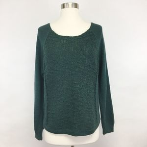 urban outfitters | silence + noise green sweater M